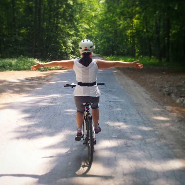 Szczęśliwy poniedziałek - rower