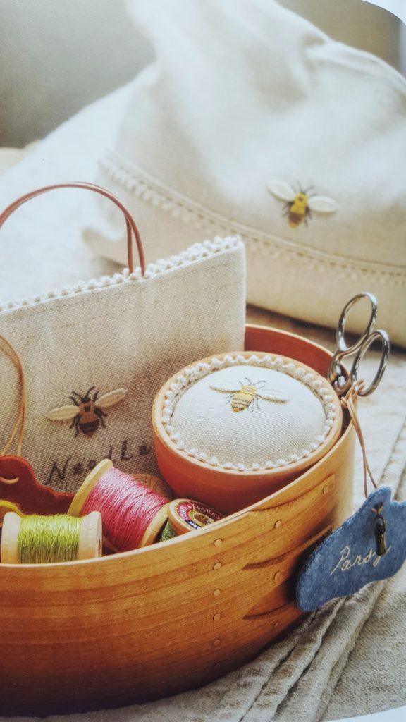 recenzja the embroidered garden kazuko